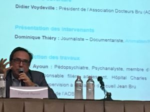 Photo de Patrick Ayoun lors du colloque n°9.