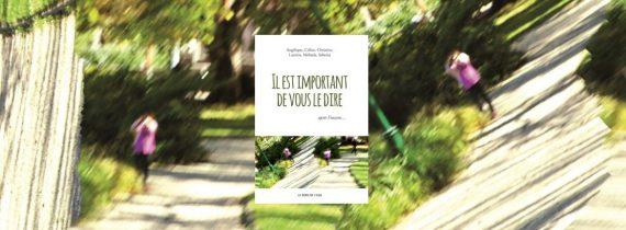 Couverture de l'ouvrage : Il est important de vous le dire, après l'inceste.