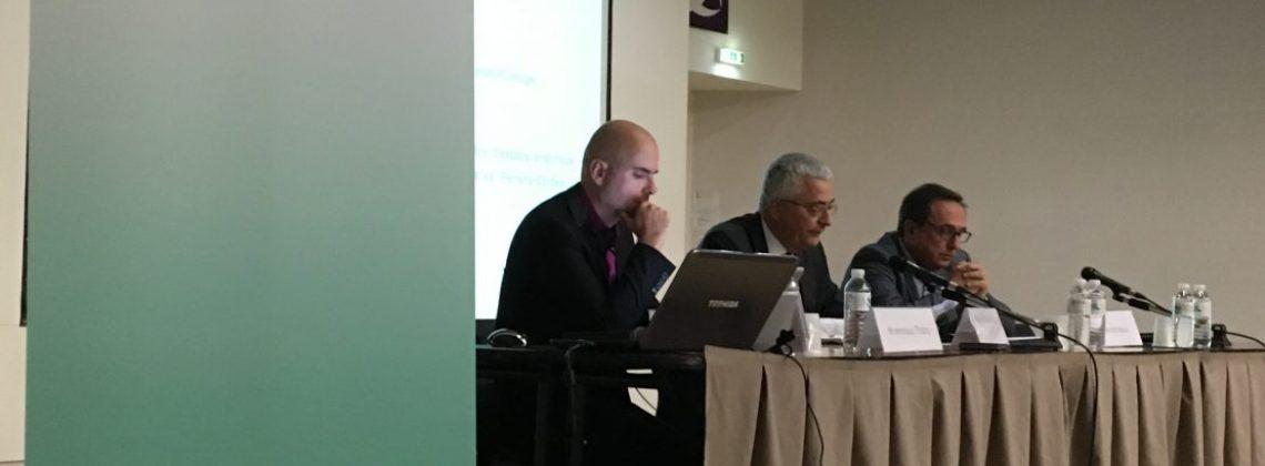 Photo du colloque n°9 : de gauche à droite : Dominique Thiéry, Didier Voydeville, Patrick Ayoun.